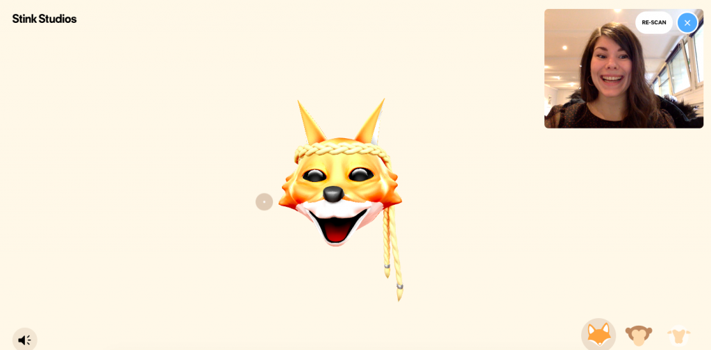 Dragapp animoji sur son ordinateur