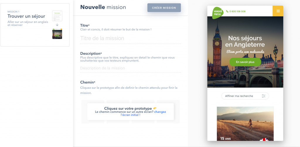 maze analyse UX sur Invision